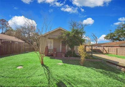 Houston Single Family Home For Sale: 6609 Cochran Street