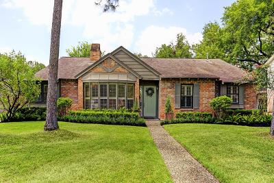 Houston Single Family Home For Sale: 10710 Holly Springs Drive