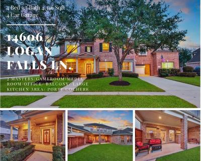 Humble Single Family Home For Sale: 14606 Logan Falls Lane