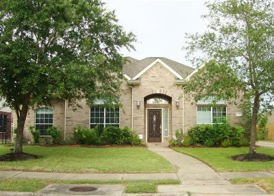 Pearland Single Family Home For Sale: 2607 Sunrise Harbor Lane