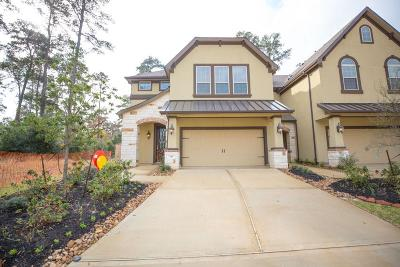 Conroe Condo/Townhouse For Sale: 156 Skybranch Drive