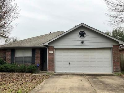 Houston TX Single Family Home For Sale: $177,000