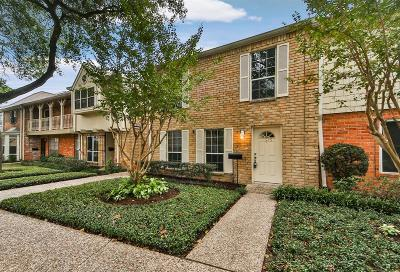 Harris County Condo/Townhouse For Sale: 1525 W Sam Houston Parkway S