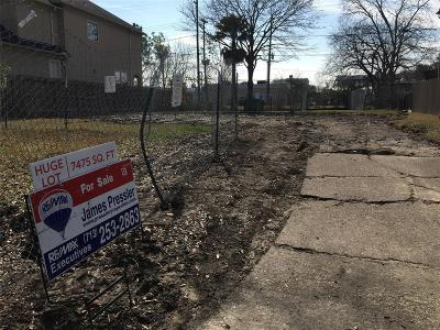 Bellaire Residential Lots & Land For Sale: 4627 Mimosa Drive