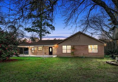 Conroe Single Family Home For Sale: 18186 Trails End Road
