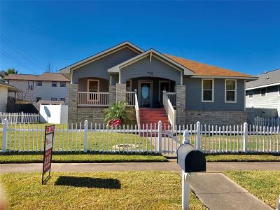 Galveston Single Family Home For Sale: 715 31st Street