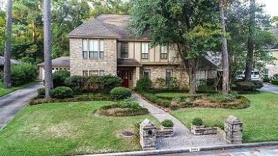Kingwood Single Family Home For Sale: 2402 Golden Pond Drive