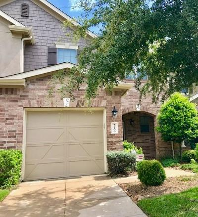 Tomball Condo/Townhouse For Sale: 12106 Martin Creek Lane
