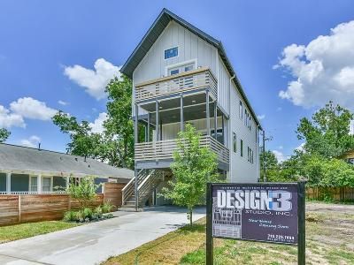 Houston Single Family Home For Sale: 827 Algregg Street