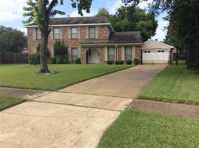 Houston Single Family Home For Sale: 323 Wedgerock Drive