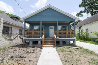 Houston Single Family Home For Sale: 2012 Common Street