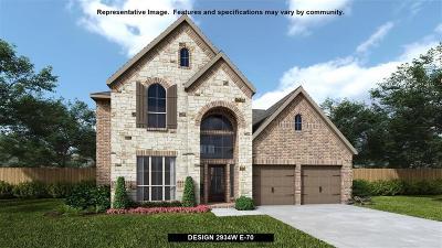 Single Family Home For Sale: 27914 Castle Park Lane