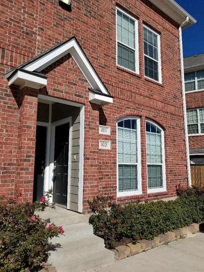 College Station Condo/Townhouse For Sale: 1198 Jones Butler Road #1812