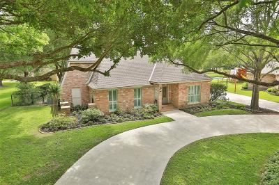 Katy Single Family Home For Sale: 6401 Cypress Lane