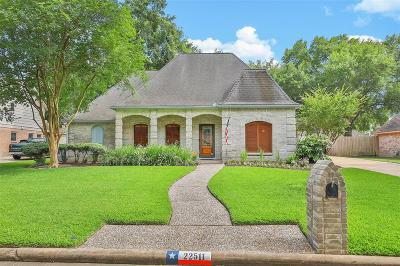 Katy Single Family Home For Sale: 22511 Vobe Court