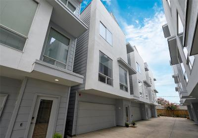Houston Condo/Townhouse For Sale: 5712 Winsome Lane #B