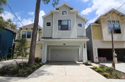 Houston Single Family Home For Sale: 5109 Darling Street
