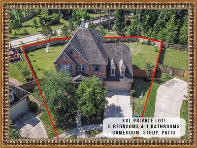 Humble Single Family Home For Sale: 14502 Red Creek Court