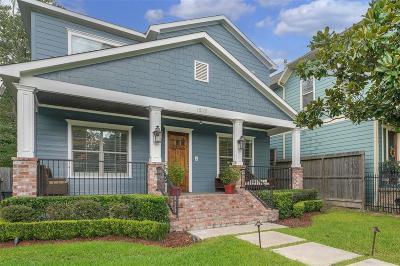 Houston Single Family Home For Sale: 1517 Waverly Street