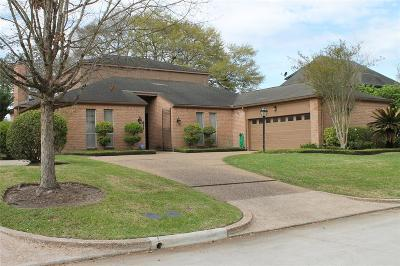 Sugar Land Single Family Home For Sale: 614 Longview Drive
