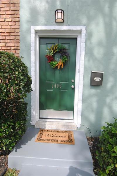 Condo/Townhouse For Sale: 1403 Ramada Drive #1403