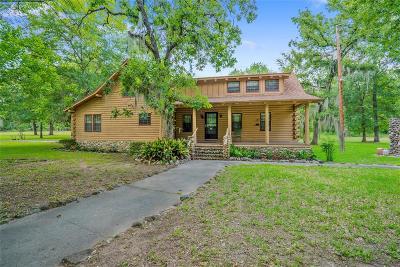 Montgomery County Farm & Ranch For Sale: 26710 Bayou Tesch Drive