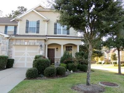 Tomball Condo/Townhouse For Sale: 16137 Limestone Lake Drive
