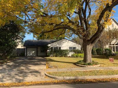 Bellaire Single Family Home Option Pending: 4612 Holt Street