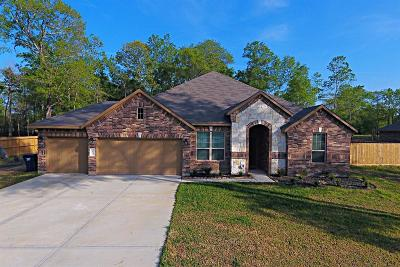 Conroe Single Family Home For Sale: 9159 White Tail Drive