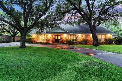 Houston Single Family Home For Sale: 5460 Huckleberry Lane