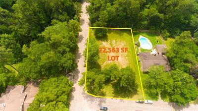 Spring Residential Lots & Land For Sale: 6103 Northway Drive