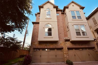 Houston Condo/Townhouse For Sale: 3303 Bingham Manor Lane