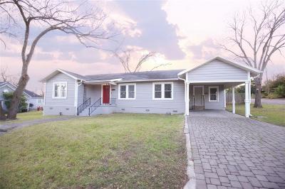 Brenham Single Family Home Option Pending: 1900 S Park Street