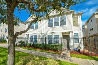 Houston Condo/Townhouse For Sale: 2711 Polk Street