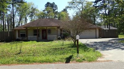 Conroe TX Single Family Home For Sale: $145,000