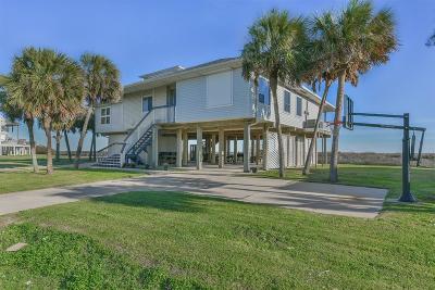 Galveston Single Family Home For Sale: 18303 E De Vaca Street E