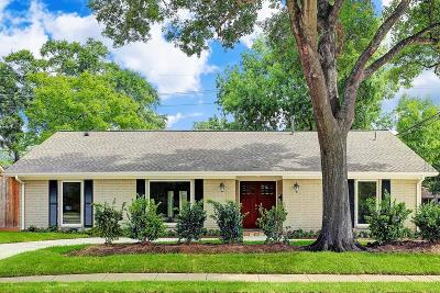 Houston Single Family Home For Sale: 6200 San Felipe Street