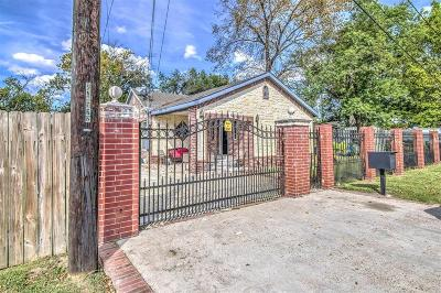 Houston Single Family Home For Sale: 89 Luther Street