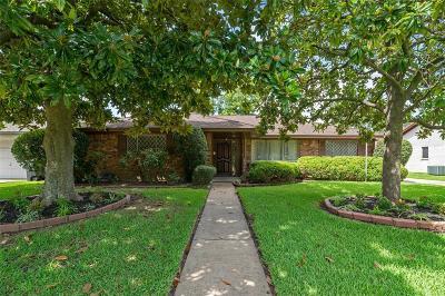 Houston Single Family Home For Sale: 2314 Straight Creek Drive