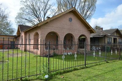Houston Single Family Home For Sale: 6930 Avenue E