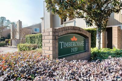 Houston Condo/Townhouse For Sale: 1920 Augusta Drive #12