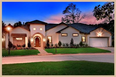Spring Single Family Home For Sale: 4 E Shadow Creek Villas Loop