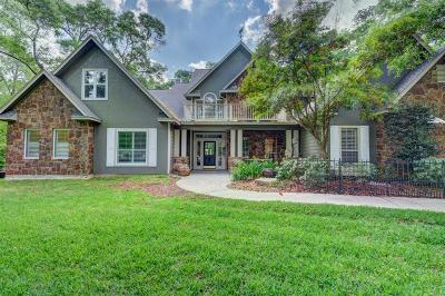 Conroe Single Family Home For Sale: 10933 Lake Forest Drive