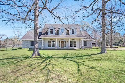 Montgomery Single Family Home For Sale: 5530 Honea Egypt Road