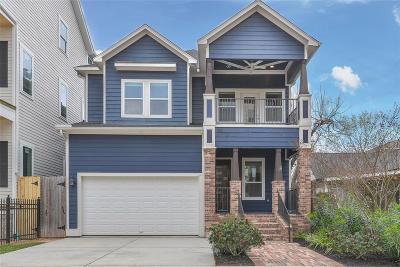 Houston Single Family Home For Sale: 613 Allston Street