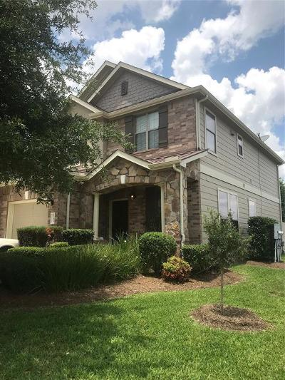 Tomball Condo/Townhouse For Sale: 12102 Martin Creek Lane