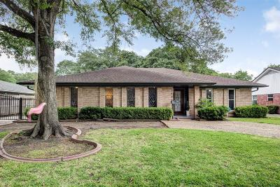 Houston Single Family Home For Sale: 7622 Pagewood Lane