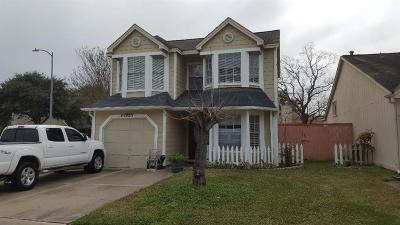 Katy Single Family Home For Sale: 18511 N Lyford Drive