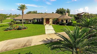 Galveston Single Family Home For Sale: 11820 Stewart Road
