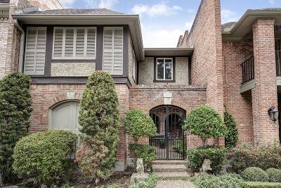 Houston Condo/Townhouse For Sale: 9617 Longmont Drive